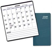 Large Print Monthly Pocket - Leatherette Covers