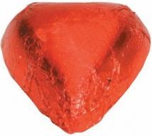 Red Chocolate Heart - No Imprint