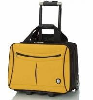 Yellow & Black Trolley Case