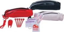 Miniature Golf Bag With Hook Clip Express Golf Care Kit