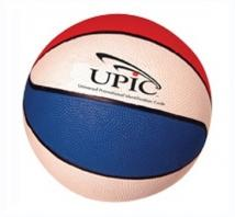 R/W/B Regulation Size Basketball