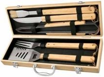 Giftcor 5pc. Bamboo BBQ Set