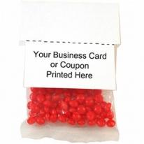 2 oz Business Card Promo Pack Small Gumballs