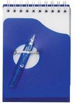 Wave Jotter Pad With Pen