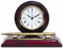 Brentwood Award Timepiece/Pen With Plate