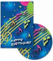 Birthdays - Card & CD