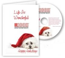 It's A Wonderful Life-Just A Card - With 3 Imprint Locations