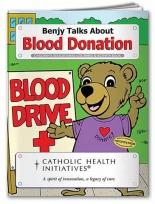 Coloring Book: Blood Donation