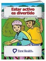 Coloring Book: Fitness Is Fun (Spanish)