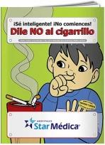 Coloring Book: Say NO to Smoking (Spanish)
