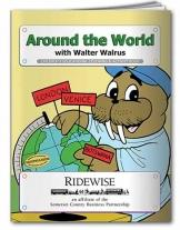 Coloring Book: Around The World