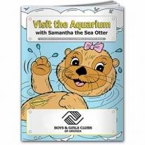Coloring Book: Visit The Aquarium
