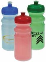 20oz. Biodegradable Tinted Sport Bottle - Colored