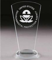 "7"" Fairmount Crystal Impression Award"