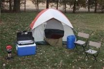 Coleman Getaway Camping Package W/ 1 Color Screen Imprint