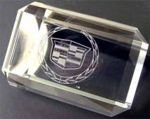 Rectangular Crystal Paperweight