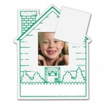 Picture Frame House W/ Rect Punch Out - .030 Thickness