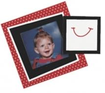 Picture Frame W/ Square Punch Out - .030 Thickness.