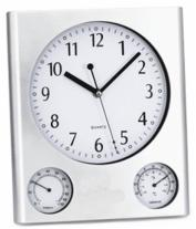 Finelife Weather Station Wall Clock