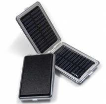 Foldable Dual Power (USB/Solar) Mobile Charger