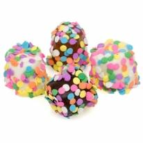 Confetti Hand-Dipped Marshmallows- Individual Puffs