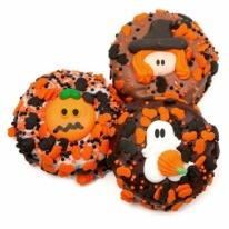Halloween Chocolate Dipped & Decorated Oreos�