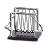 Newton's Cradle-Pull & Release One Ball & It Begins