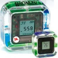 4-in-1 Magic Clock With See Thru Oil/Water Timer & Rising