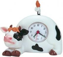 Animal Clock W/Swinging Tail