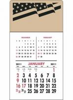 Press-N-Stick - Three Month Vertical Calendar Pad