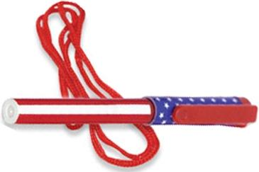 American Flag Pen Necklace