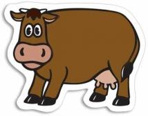 Cow Magnet - .020 Thickness
