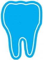 Tooth Magnet - .020 Thickness