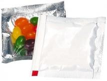 "Jelly Beans 3"" X 3"" Treat Packet"