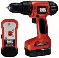 Black & Decker 14.4V Drill With Stud Finder