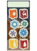 Holiday Stickers - Luminarias