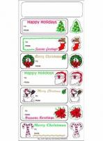 Christmas to/From Stickers