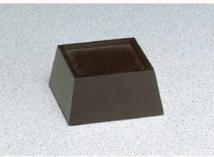 "Black Wood Base 2-3/8"" Square Recess"