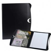 Padfolio With Business Card & CD Holder