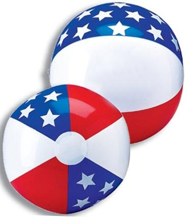 16-in. Stars &  Stripes Beach Ball