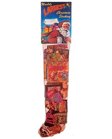 Six Foot Christmans Stocking