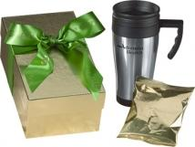 Applause Gift Boxed Travel Mug W/Hot Chocolate
