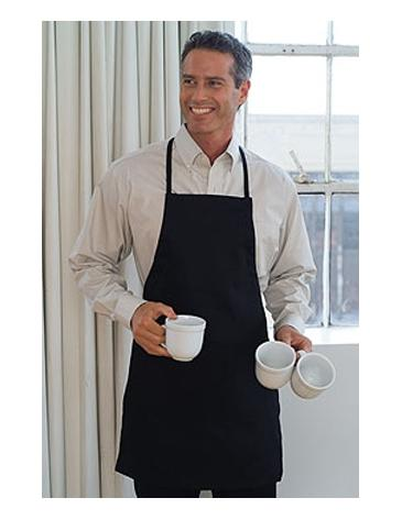 Easy-Care Twill 30� Adjustable Full Apron