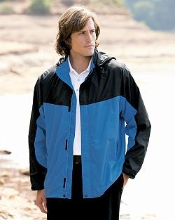 Light Weight Nylon Color-Block Jacket