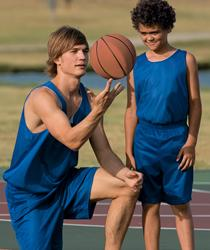Youth Reversible Mini Mesh League Tank