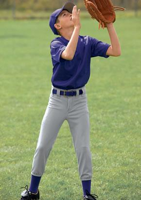 Youth Belted Baseball Pants