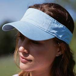 Direct Dyed Twill Visor