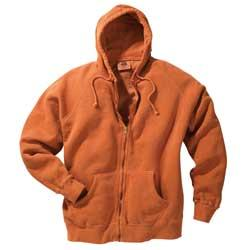 11 oz. Pigment-Dyed Cotton Full-Zip Hood