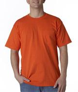 Adult Short-Sleeve Tee with Pocket