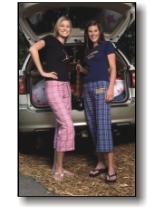 Women's Flannel Capri Pants